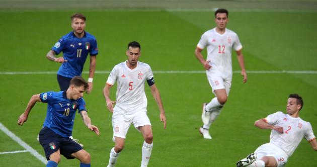 As it happened: Italy v Spain, Euro 2020 semi-final