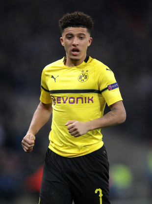 Borussia Dortmund's Jadon Sancho.