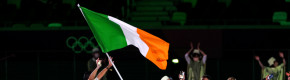Harrington and Irvine lead out Team Ireland for opening ceremony at near-empty Olympic Stadium