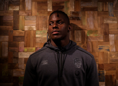 Lions lock Maro Itoje in Cape Town.