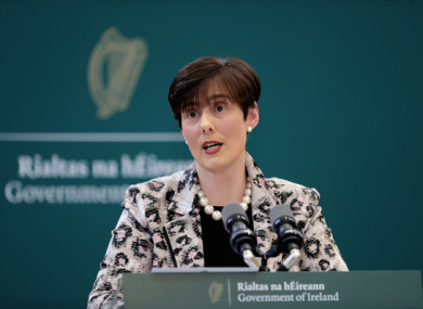 File image of Education Minister Norma Foley.