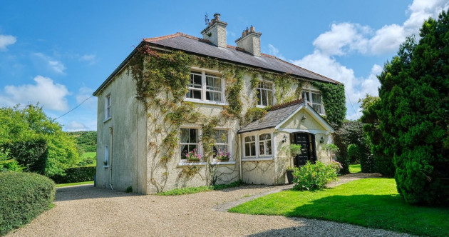 Luxury living on eight acres: This ivy-clad country house is a rare gem at €425k