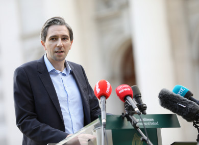 Minister for Further and Higher Education Simon Harris
