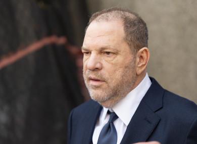 Harvey Weinstein pictured in 2018.