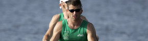 Paul Griffin, competing for Ireland at the 2004 Olympics.