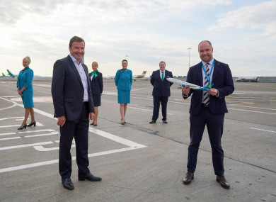 Conor McCarthy, Founder and Chief Executive, Emerald Airlines and Reid Moody, Chief Strategy & Planning Officer, Aer Lingus
