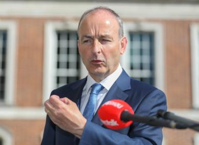 File image of Taoiseach Micheál Martin.