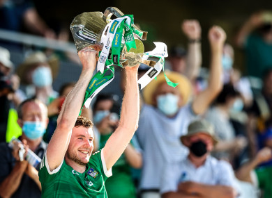 Declan Hannon after this year's Munster final.