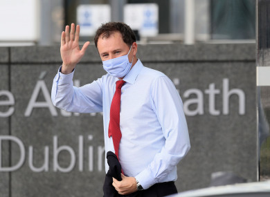 Agriculture Minister Charlie McConalogue asked people to follow the public health guidelines.