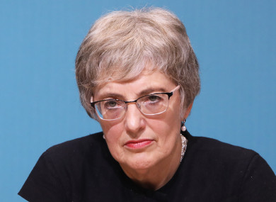 Dr Katherine Zappone during her time as Minister for Children and Youth Affairs.