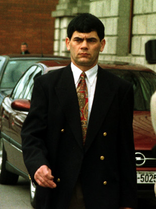 Gerry Hutch in March 1999.