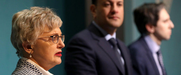 Katherine Zappone announced yesterday that she had declined the position of UN special envoy for freedom of opinion and expression.