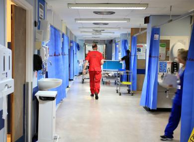 File photo of an NHS hospital ward.