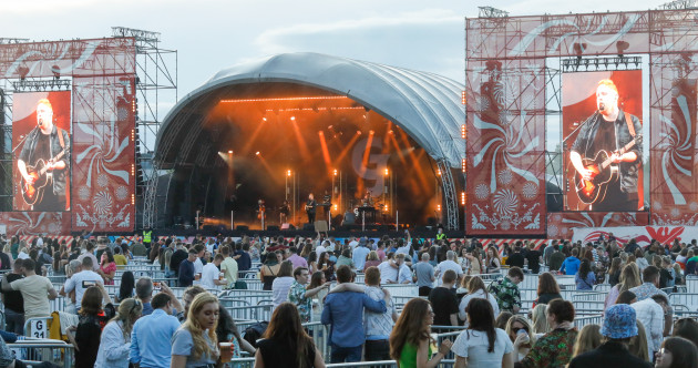 Seven in 10 people think live outdoor music events should go ahead this year