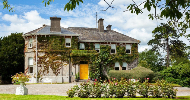 Suir winner: This ivy-clad 18th century mansion is a beauty by the riverside