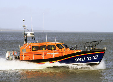 Wicklow RNLI all-weather lifeboat (file photo)