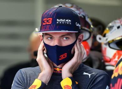 Red Bull's Max Verstappen.