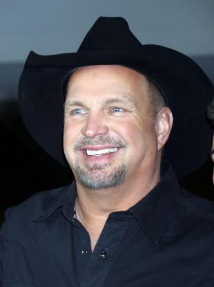 Garth Brooks pictured in Las Vegas in December 2015