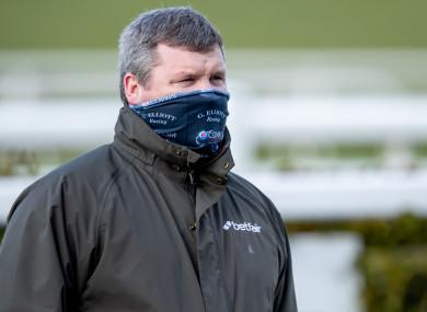 Irish trainer Gordon Elliott.