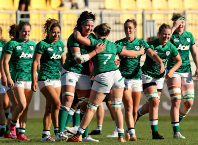 Ireland are coming off the back of a win over Italy.