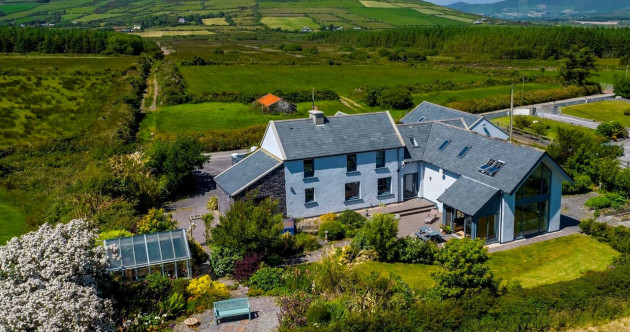 Beauty by the bay: Converted Kerry farmhouse with sweeping sea views and modern design
