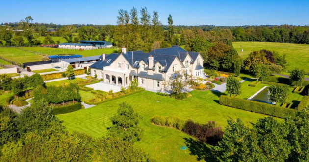 Rein supreme: This luxurious mansion with stables, paddocks and fountains is yours for €2.75m