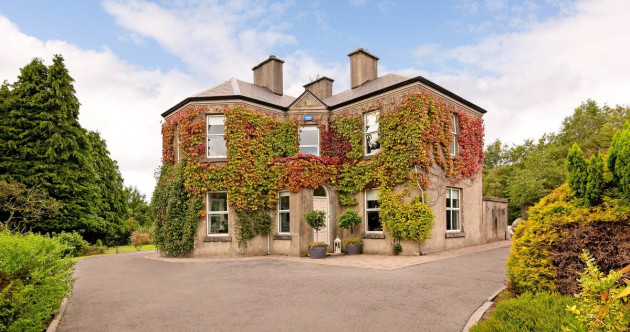 Ivy league: Picture-perfect country house with lush grounds in Sligo for €890k
