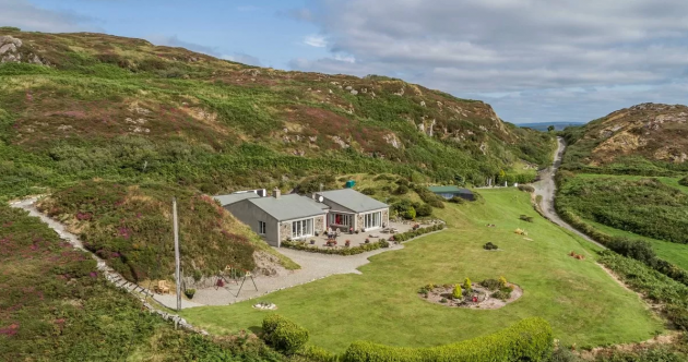 Peace, quiet and panoramic views at this €850k hideaway in the West Cork hills