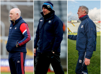 Cork, Laois and Galway all have managerial vacancies