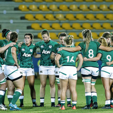 Ireland Women are in Italy at present.
