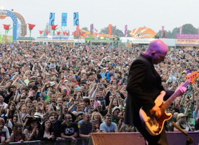 The Waterboys performing at Electric Picnic in Stradbally, Co Laois.
