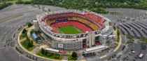 Washington's FedEx Field, which is scheduled to play host to the All Blacks this weekend.