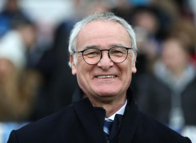 Claudio Ranieri (file pic).
