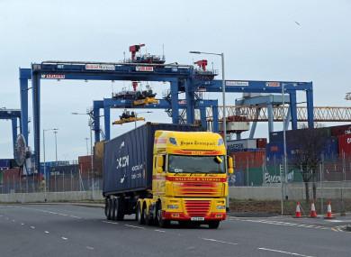 The Port of Belfast Harbour