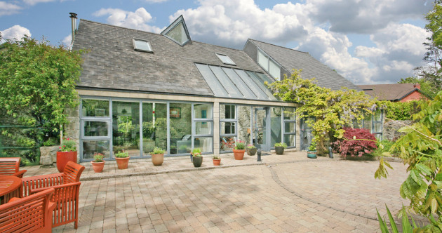 Hidden gem on the city's edge: Explore a light-filled former coach house in Limerick