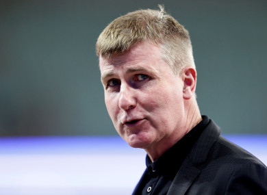 Ireland manager Stephen Kenny.