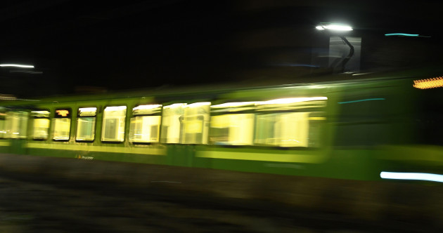 Investigation into reports of disturbing 'rape chant' on nighttime DART service